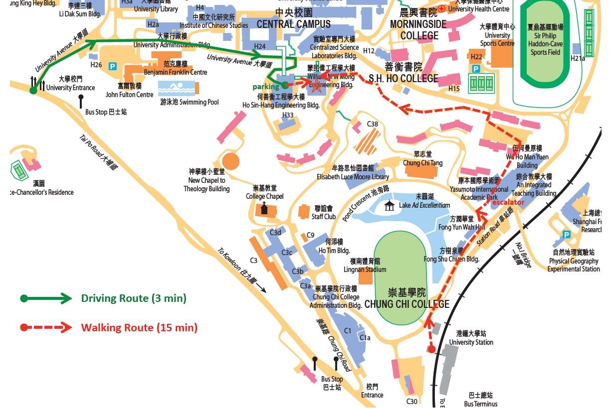 CUHK Map