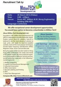 MillionTech RecruitmentTalk_20150320
