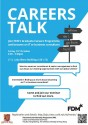 Career Talk FDM poster