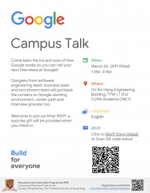 CUHK_Google Campus Talk Poster_20190320