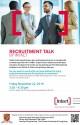 CUHK Recruitment Talk Poster