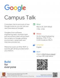 Career Talk By Google Cintec News